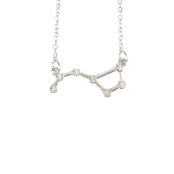 Blackheart Bling Big Dipper Chain Necklace