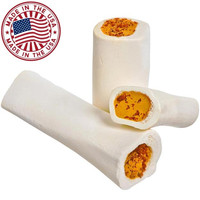 Redbarn Cheese & Bacon Filled Bone Dog Chew Treat Sz: Large