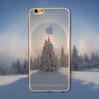 Beautiful Snowy Winter iPhone Case