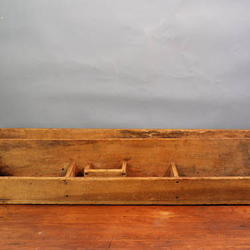 Rustic Desk Organizer, Organizer Shelf, Farmhouse Décor, Display Tray, Table Display, Storage tray, Primitive Organizer, Rustic Organizer