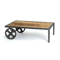 Transfer Cart Coffee Table