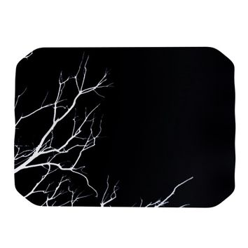 "Skye Zambrana ""Winter Black"" Place Mat"