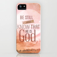 be still.. iPhone & iPod Case by studiomarshallarts