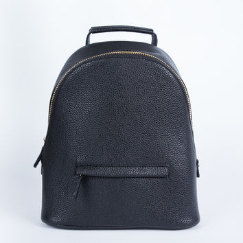 Zipped Up Backpack