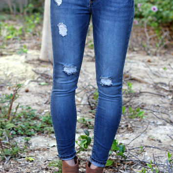Rugged Runway Skinny Jeans