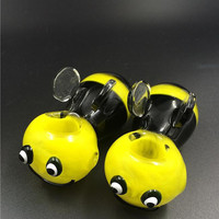 Bumble Bee Glass Smoking Bowl
