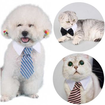 Petalk Various Cat Dog Bow Tie