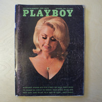 1965 - Playboy Magazine - Vintage Erotic Photos - Mature Nude Women - Antique Naked Picture - 1960s Culture