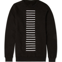 Rick Owens - DRKSHDW Striped Cotton-Jersey Sweatshirt | MR PORTER
