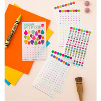 Ardium Date adhesive sticker set of 6 sheets