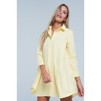 Basic Longline Shirtdress