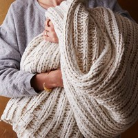 St. Jude Metallic Yarn Knit Throw