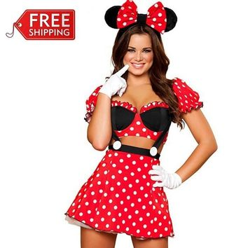 Playful Minnie Mouse Costume