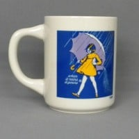 Morton Salt Advertising Coffee Mug - Vintage 1970s | MugZee - Ceramics & Pottery on ArtFire