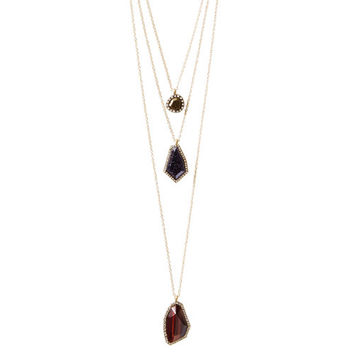 Rebel Three-Row Convertible Necklace