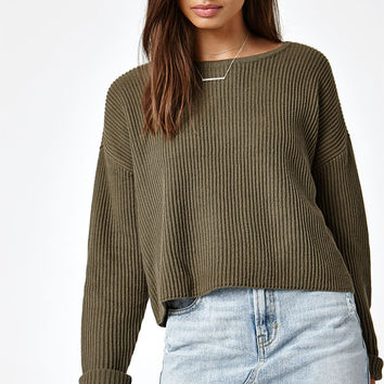 Kendall and Kylie Embroidered Pullover Sweater at PacSun.com