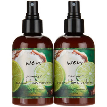 WEN by Chaz Dean 6 oz. Summer Replenishing Treatment Duo — QVC.com