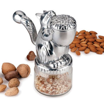 Squirrel-Themed Nut Grinder