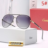 Cartier Fashion New Polarized Couple Travel Sunscreen Eyeglasses Glasses