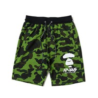 hcxx 19June 187 Aape Camouflage printed Breatable shorts