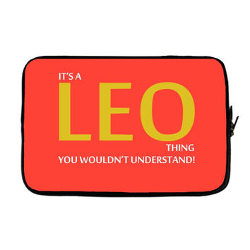 It's A Leo Thing Laptop sleeve