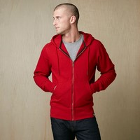 Heavyweight Full Zip Hooded Sweatshirt
