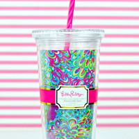 LILLY PULITZER: Tumbler - Lilly's Lagoon