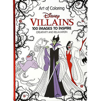 Disney Art Of Coloring: Disney Villains Coloring Book