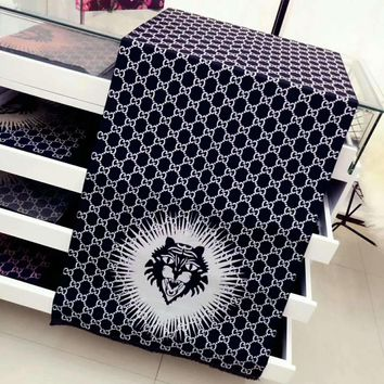 One-nice™ Perfect GUCCI Tiger Print Women Fashion Accessories Sunscreen Cape Scarves Scarf