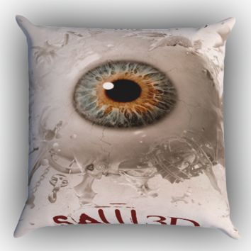 Saw film Horror Z0598 Zippered Pillows  Covers 16x16, 18x18, 20x20 Inches