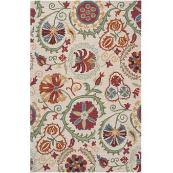 Floral Suzani Rug