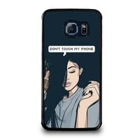 KYLIE JENNER DONT TOUCH MY PHONE Samsung Galaxy S6 Edge Case Cover