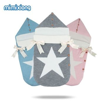 Five Star Knitted Sleeping Bag for Newborns