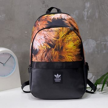 Adidas Fashion Print Backpack Travel Bag School Backpack