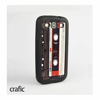 Vintage Red Tape Samsung Galaxy S3 Case