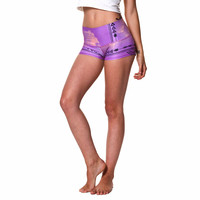 Purple Hazed Sun Shorts