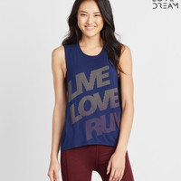 LLD Live Love Run Muscle Tank