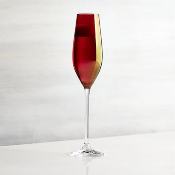 Red Luster Champagne Glass