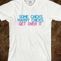 GET OVER IT GAY MARRIAGE TEE