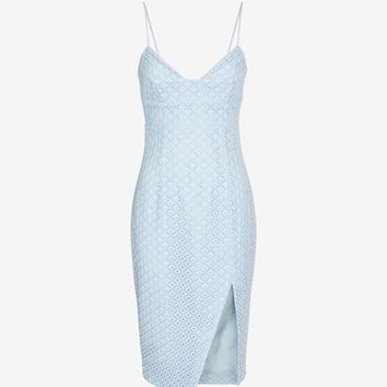 Nicholas EXCLUSIVE Geometric Lace Dress at INTERMIX | Shop Now | Shop IntermixOnline.com