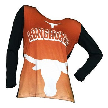 College Concepts Texas Longhorns Cameo Hoodie - Womens