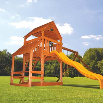Playground One Turbo Deluxe Fort with Cafe Table