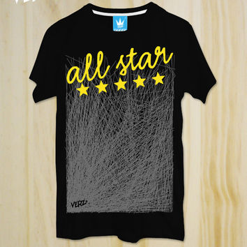 All Star,Minimal T-shirt ,Sport Style T-shirt ,Quote Tshirt ,Slogan Tshirt,Typography tees,T-shirt ,Teen Tshirt,friend gift