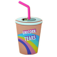 Unicorn Tears/Leopard Starbucks Coffee Silicone Phone Cases