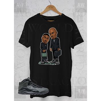 Dmx Nas Belly Movie Dark Shadow Jordan 10 Graphic Tee Unisex T Shirt