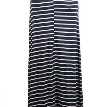By Land or By Sea Maxi Skirt