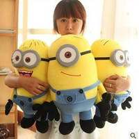 Big Size 50CM 3D Despicable ME Very Big Movie Plush Toy 20Inch Minions Toys & Hobbies One PCS