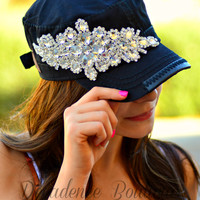 DIAMONDS ARE A GIRLS BEST FRIEND HAT
