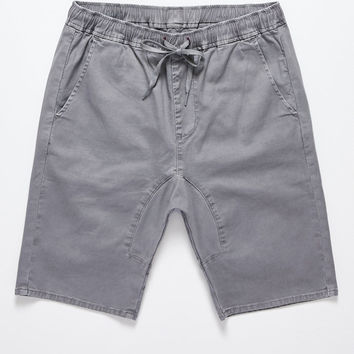 Bullhead Denim Co. Jogger 2.0 Gray Shorts at PacSun.com