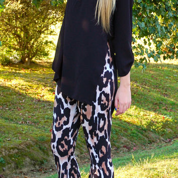 Show Me Your Mumu - Bam Bam Bells  - Cheetah Stretch Spandy